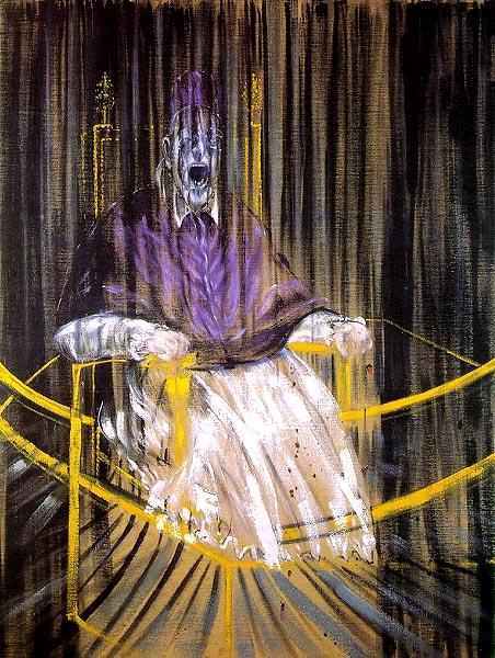 Francis Bacon (1909 - 1992) Bacon_study1953